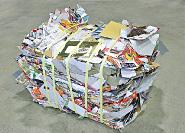 紙製容器包装圧縮梱包品